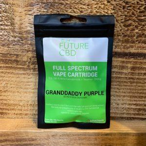 Future CBD Full Spectrum Vape Cartridge Granddaddy Purple 60-40 Indica Dominant