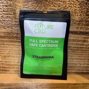 Future CBD Full Spectrum Vape Cartridge Strawnana 80-20 Indica Dominant