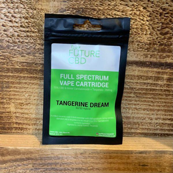Future CBD Full Spectrum Vape Cartridge Tangerine Dream 50-50 Hybrid